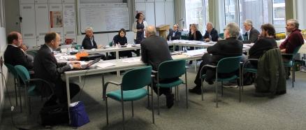 Haus der Niederlande in Münster - Vorbereitungstreffen der Kooperationspartner