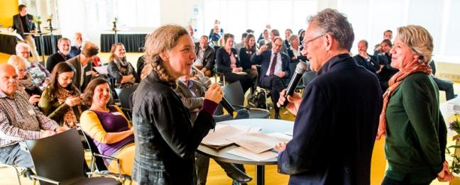 Grimme, Van de Laar en Van der Zeeuw. Afb.: Comité 4 en 5 mei/Marco de Swart